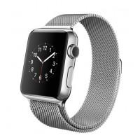Apple Watch (Миланский сетчатый ремешок из нерж.стали, 38 мм)